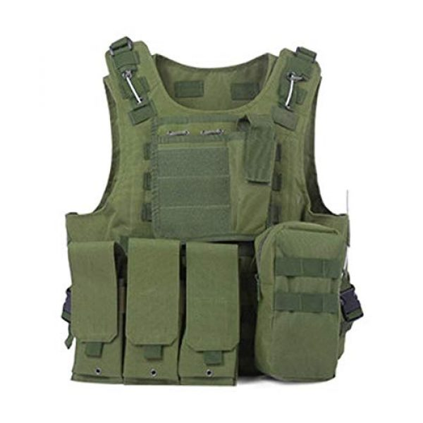 Shefure Airsoft Tactical Vest 6 Shefure Camouflage Tactical Amphibious Vest Military Army Combat Airsoft Paintball Sport Body Armor Molle Hunting Vest 8 Colors