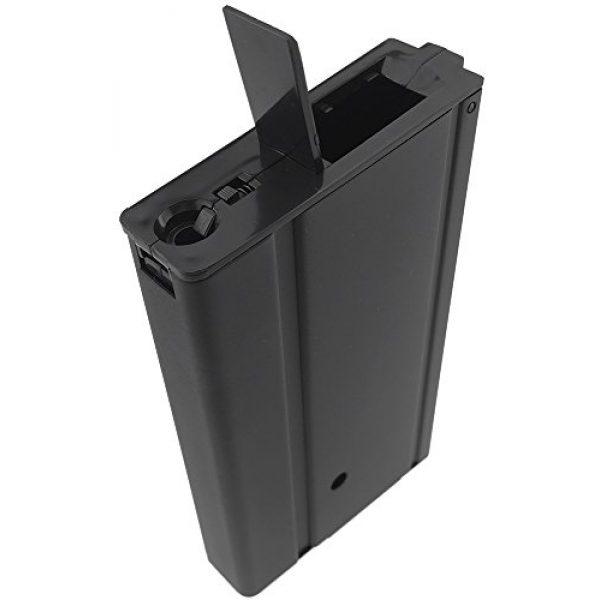 SportPro Airsoft Gun Magazine 3 SportPro 400 Round Metal High Capacity Magazine for AEG M14 3 Pack Airsoft Black