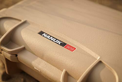 Nanuk Airsoft Gun Case 4 Nanuk 909 Pistol Case W/Foam (Tan)