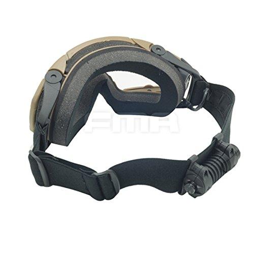 ATAIRSOFT Airsoft Goggle 5 ATAIRSOFT Wind-Shield Protective Airsoft Ski Bike Goggles Mini Fan System