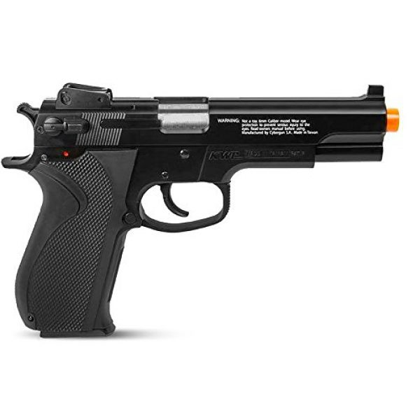 Fire Power Airsoft Pistol 3 Firepower .45 Metal Slide Spring Powered Airsoft Pistol with Hop-Up, 325 FPS
