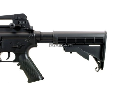 BBTac  3 BBTac M83 Full and Semi Automatic Electric Powered Airsoft Gun Full Tactical Accessories Ready to Play Package