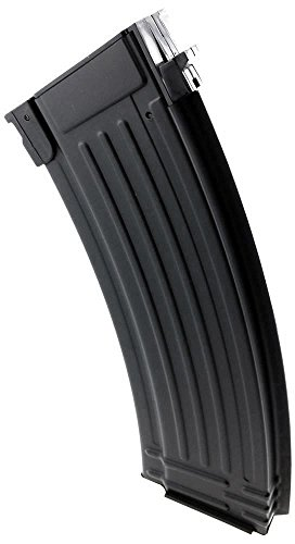 SportPro Airsoft Magazine 4 SportPro CYMA 150 Round Metal Medium Capacity Magazine for AEG AK47 AK74 Airsoft Black