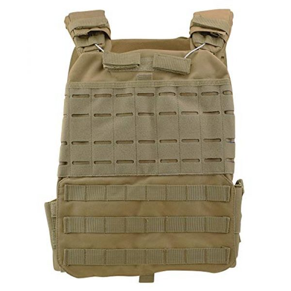ActionUnion Airsoft Tactical Vest 1 ActionUnion Tactical Vest Molle CS Field Vests Outdoor Adjustable Lightweight Breathable Airsoft Paintball Hunting Shooting Adults 900D Oxford