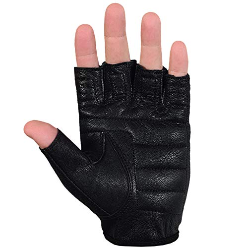 Max5 Airsoft Glove 6 Max5 Men's Fingerless Motorcycle Gloves