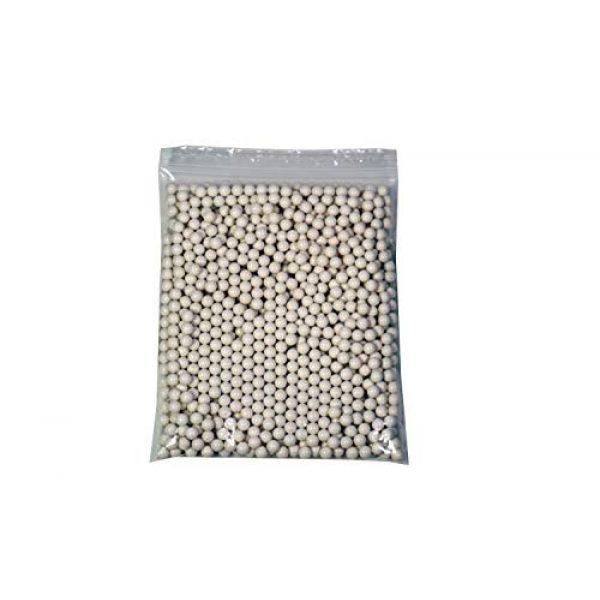BULLDOG AIRSOFT Airsoft BB 2 Bulldog - [1000] Airsoft Pellets [0.20g] Biodegradable [6mm White] Triple Polished [Pro Team Grade]