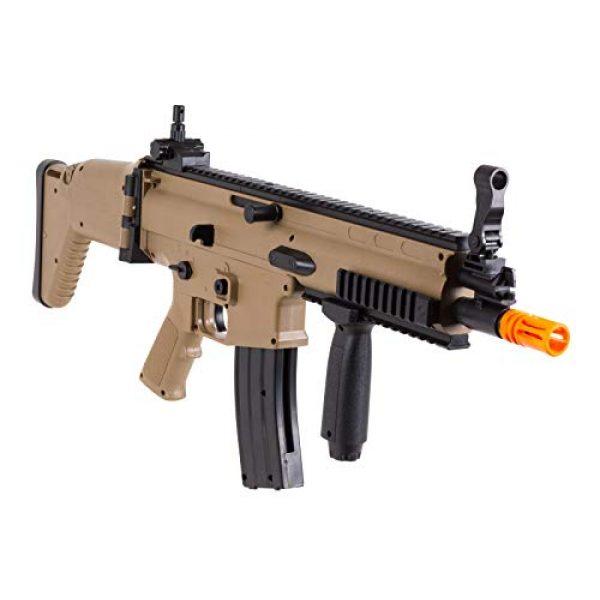 FN Airsoft Rifle 2 FN Scar-L Spring Powered Airsoft Rifle, Tan, 300 FPS