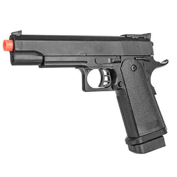 UKARMS Airsoft Pistol 1 UKARMS P2001A Spring Powered Tactical Airsoft Pistol w/ 6mm BBS + Detachable Magazine