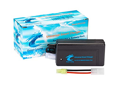 Ocean Loong Airsoft Battery Charger 1 Ocean Loong NiMH Battery Charger for 7.2.V-10.8V Battery Packs