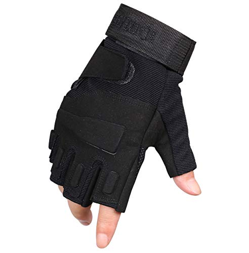 ThreeH Airsoft Glove 3 ThreeH Sports Gloves Half Fingers Wear Rsistant Sports Gloves GL06