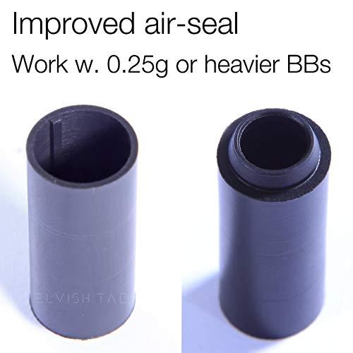 Elvish Tac Airsoft Barrel 3 Elvish Tac RHOP + Modify Hybrid 6.03mm Tightbore Barrel + Flat-Hop Bucking S-Nub AEG R-Hop