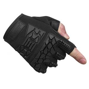 Seibertron Airsoft Glove 1 Seibertron T.T.F.I.G 2.0 Men's Tactical Military Gloves Flexible Rubber Knuckle Protective for Combat Hunting Hiking Airsoft Paintball Motorcycle Motorbike Riding Outdoor Gloves