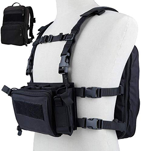 Tactical Area Airsoft Tactical Vest 1 Tactical Chest Rack