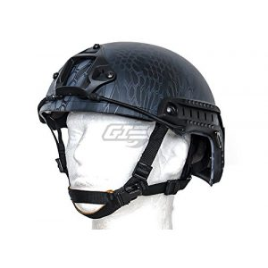 Lancer Tactical Airsoft Goggle 1 Lancer Tactical CA-726B FAST Helmet MH Type Custom Color (Black)