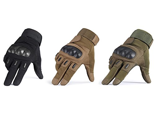 COTNOW Airsoft Glove 6 Tactical SWAT Gloves Military Army Police Hard Knuckle Paintball Mittens Outdoor Sport Combat Full Finger Ski Gloves