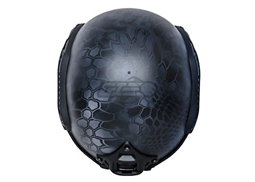 Lancer Tactical Airsoft Goggle 5 Lancer Tactical CA-726B FAST Helmet MH Type Custom Color (Black)