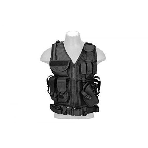 Lancer Tactical Airsoft Tactical Vest 1 Lancer Tactical Cross Draw Tactical Vest