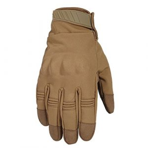 WTACTFUL Airsoft Glove 2 WTACTFUL Windproof Touch Screen Warmer Full Finger Gloves for Winter Cycling Motorcycle Hunting Gear