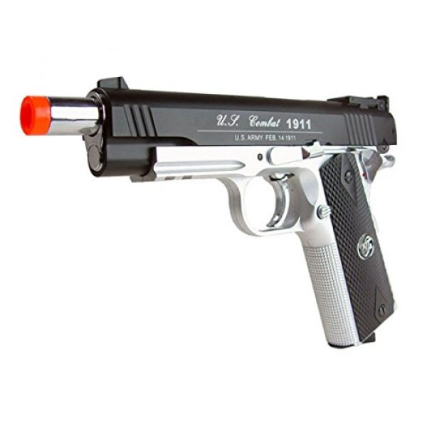 WG Airsoft Pistol 4 500 FPS NEW WG AIRSOFT FULL METAL M 1911 GAS CO2 HAND GUN PISTOL w/ 6mm BB BBs