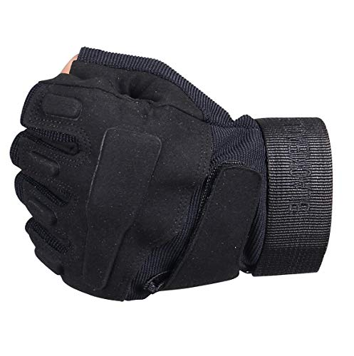 ThreeH Airsoft Glove 4 ThreeH Sports Gloves Half Fingers Wear Rsistant Sports Gloves GL06