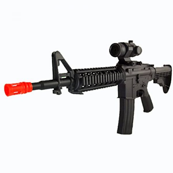 SDN Airsoft Rifle 1 d92 new version electric airsoft gun full auto rechargeable fps-250 upgraded version, comes w/ scope(Airsoft Gun)