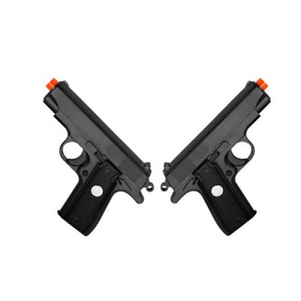 BBTac Airsoft Pistol 1 BBTac G2-(x2) Dual Spring 240 FPS Airsoft Gun (2-Pack)