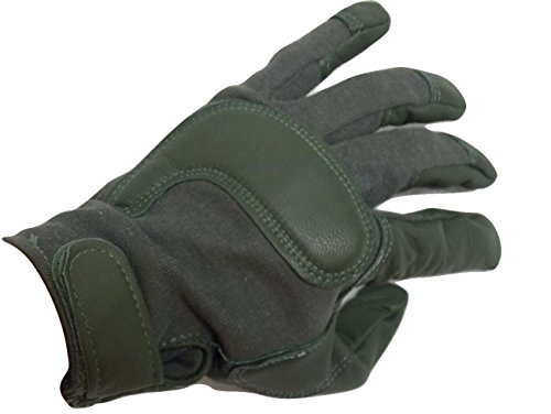 HWI Airsoft Glove 5 USGI ARMY COMBAT GLOVES TACTICAL SHOOTERS GLOVES (Large)