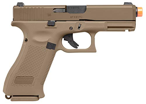 Umarex Airsoft Pistol 2 Umarex Glock 19X GBB Blowback 6mm BB Pistol Airsoft Gun, Glock 19X Airsoft Gun (2276328)