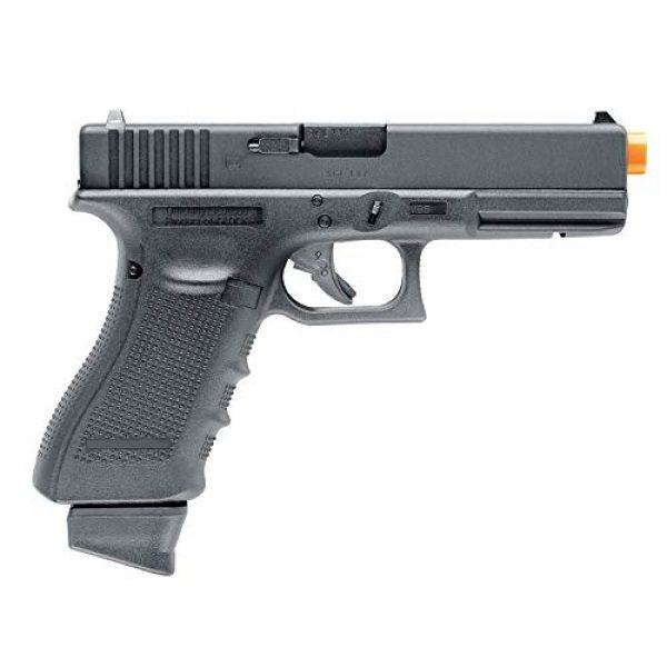 "Umarex USA Airsoft Pistol 3 Umarex USA, Glock Air Pistols, Model 17 Gen 4, 6mm, 3 3/4"" Barrel, Fixed Sights, Black"