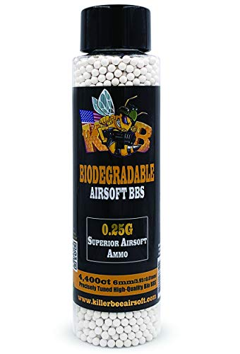 Killer Bee Airsoft Airsoft BB 1 Biodegradable Airsoft BBS 0.25g 6mm BBS 4