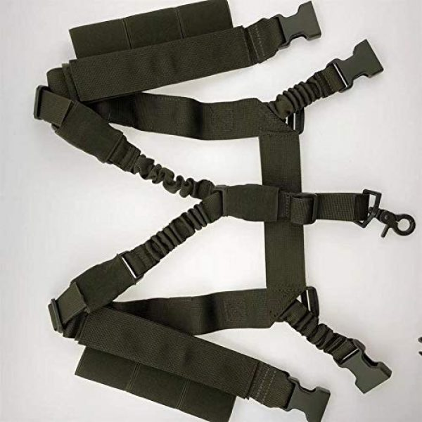 Shefure Airsoft Tactical Vest 5 Shefure Military Tactical Vest Airsoft Molle System Low Profile Chest Rig Removable Gun Sling Hunting Airsoft Paintball Gear
