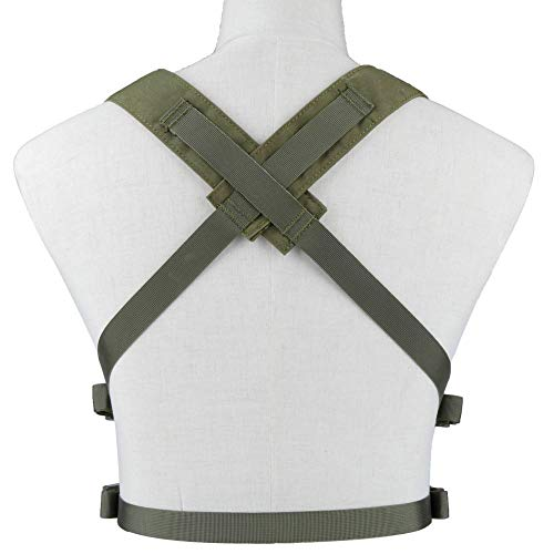Kayheng Airsoft Tactical Vest 4 Kayheng Tactical Vest Airsoft Ammo Chest Rig 5.56 9mm Magazine Carrier with Molle Flatpack Backpack
