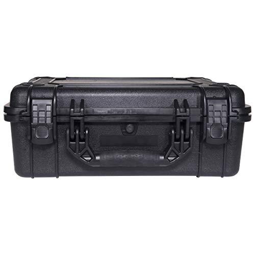 Condition 1 Airsoft Gun Case 4 Condition 1 #227 Black Airtight/Watertight Protective Case with DIY Customizable Foam