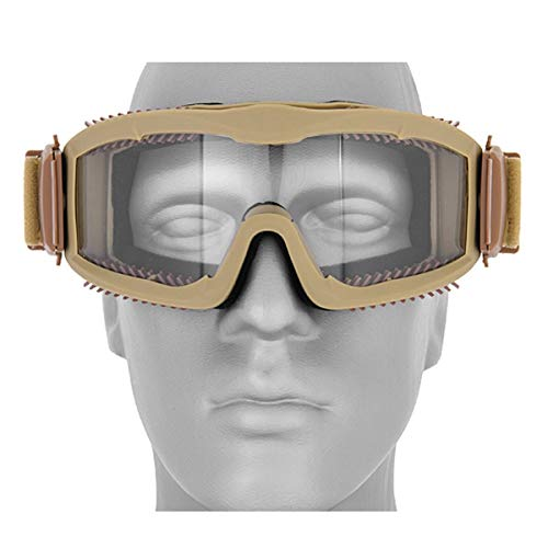Destinie Airsoft Goggle 1 Destinie Lancer Tactical Airsoft Vented Safety Goggles Glasses Eye Wear Googles TAN
