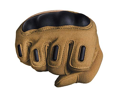TitanOps Gear Airsoft Glove 4 TitanOPS Full Finger Hard Knuckle Motorcycle Military Tactical Combat Training Army Shooting Outdoor Gloves