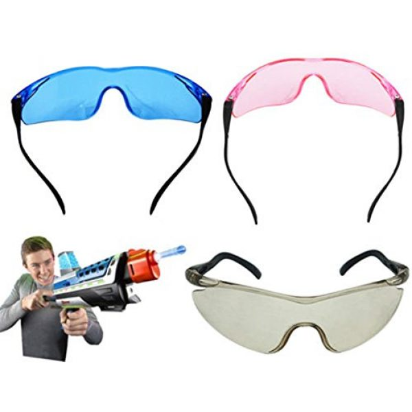 856store Airsoft Goggle 2 856store Kids Eye Protection Safety Glasses Goggles Outdoor Shooting Games Protector