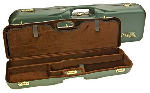 Negrini Cases  3 Negrini Cases 1646LR-3C/4733 Shotgun Case for O/U ABS/1 Gun/3 Barrels to 34 5/8-Inch/Med-Rib