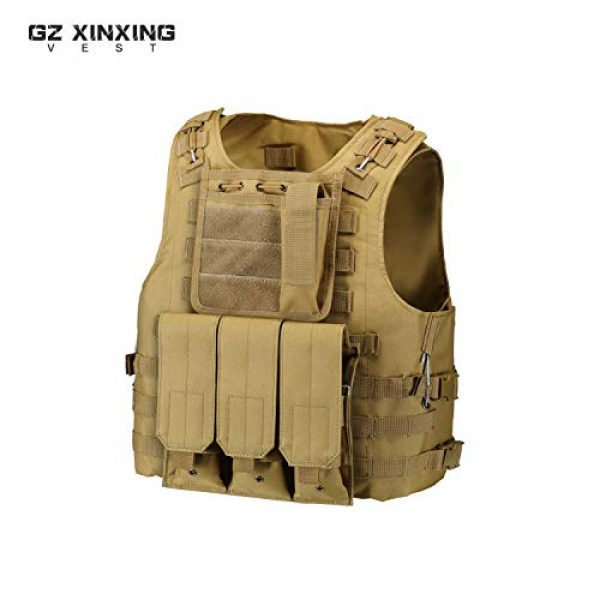 GZ XINXING Airsoft Tactical Vest 2 GZ XINXING 100% Full Refund Assurance Tactical Airsoft Vest