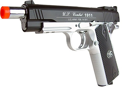 WG Airsoft Pistol 3 500 FPS NEW WG AIRSOFT FULL METAL M 1911 GAS CO2 HAND GUN PISTOL w/ 6mm BB BBs