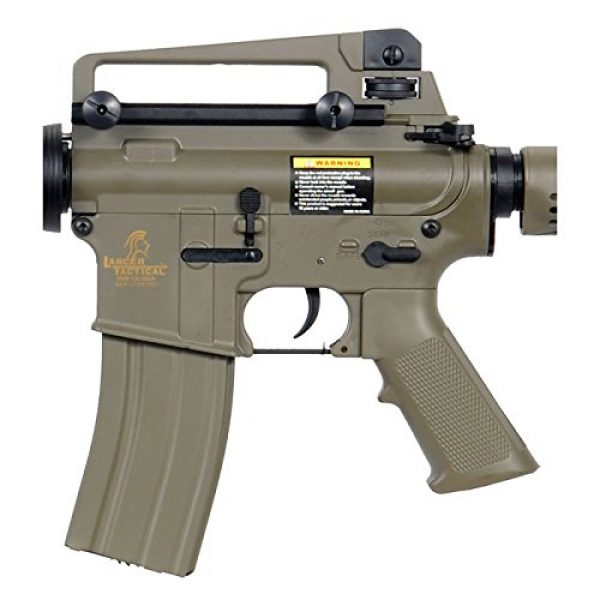 Lancer Tactical Airsoft Rifle 2 Lancer Tactical LT-06T M4A1 Airsoft Electric Gun Metal Gear FPS-400 - Dark Earth