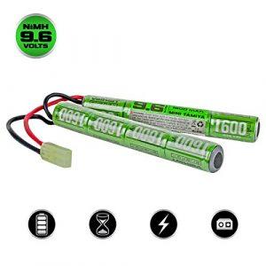 Valken Airsoft Battery 1 Valken Airsoft Battery - NiMH 9.6v 1600mAh Split Style