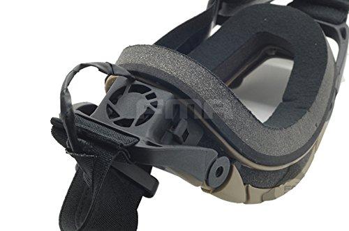 ATAIRSOFT Airsoft Goggle 6 ATAIRSOFT Wind-Shield Protective Airsoft Ski Bike Goggles Mini Fan System