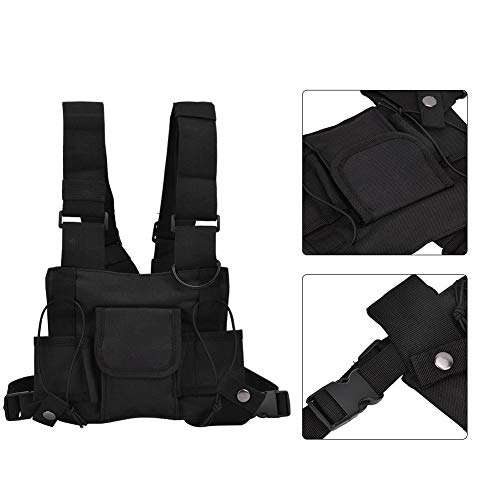 Alomejor Airsoft Tactical Vest 7 Alomejor Airsoft Vest Training Outdoor Vests with Reflective Stripes for Airsoft Paintball Wargame Outdoor Sport