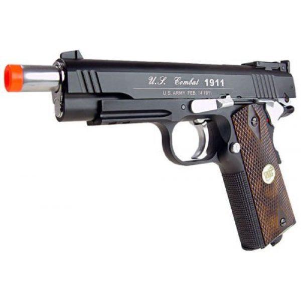 WG Airsoft Pistol 5 500 fps new full metal wg airsoft m 1911 gas co2 hand gun pistol w/ 6mm bb bbs(Airsoft Gun)