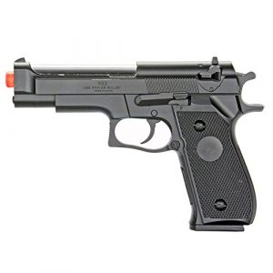 BBTac Airsoft Pistol 1 BBTac Airsoft Pistol BT-M22 Spring Loaded Gun Airsoft Handgun, High Power 300 FPS