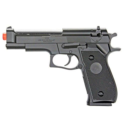 BBTac Airsoft Pistol 1 BBTac Airsoft Pistol BT-M22 Spring Loaded Gun Airsoft Handgun