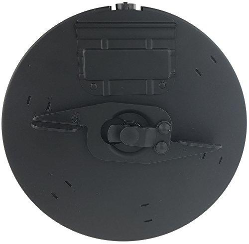 SportPro  5 SportPro CYMA 450 Round Metal Drum Magazine for AEG Thompson M1A1 Airsoft - Black