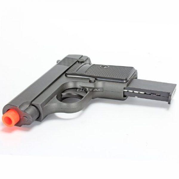 BBTac Airsoft Pistol 7 bbtac g1 airsoft full metal slide and body ultra subcompact 6-inch pocket pistol 215 fps gun(Airsoft Gun)