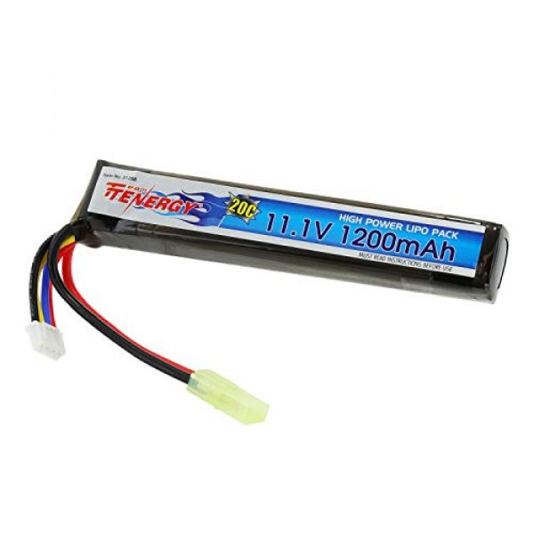 Tenergy Airsoft Battery 1 Tenergy Airsoft Battery 11.1V
