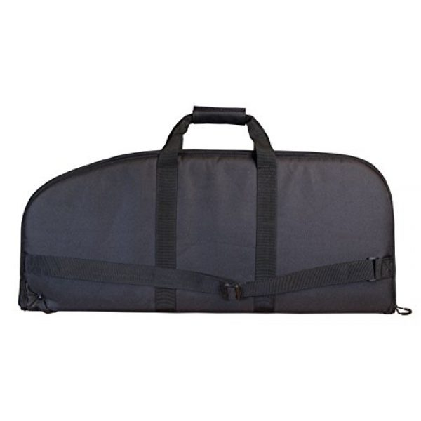 Smith & Wesson Airsoft Gun Case 2 Smith & Wesson M&P Duty Series Padded Gun Case with Ballistic Fabric Construction and External Pockets for Shooting, Range, Storage and Transport
